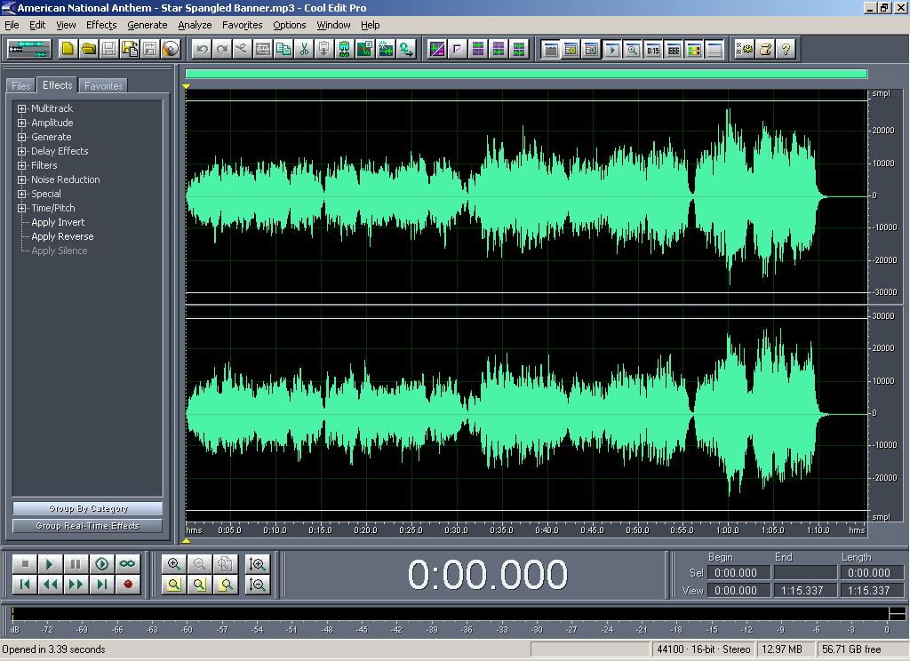 Müziğe efekt ekleme programı, müziği sesten ayırma
